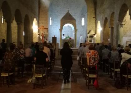 L' Abbazia torna a spalancare le porte a fedeli e visitatori